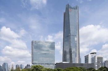 Studi Banding PT Menara Maritim Indonesia ke Telkom Landmark Tower (Jakarta)