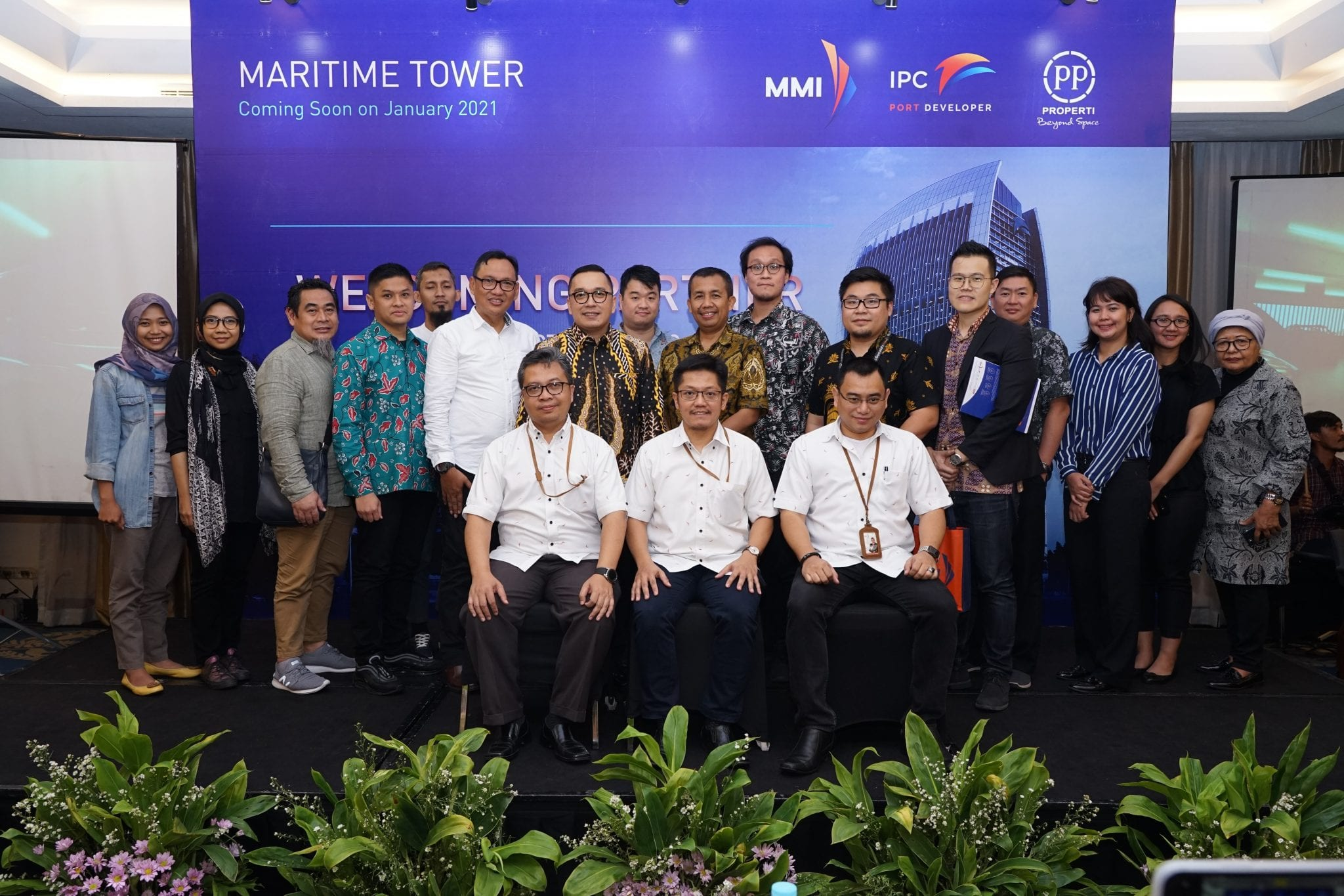 Welcoming Partner – Maritime Tower