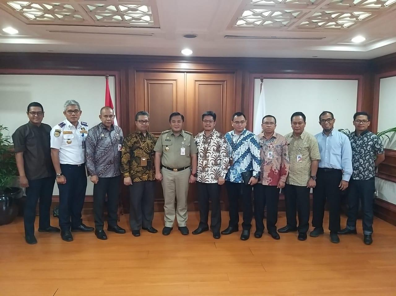 Silaturahmi Direksi PT MMI ke Walikota Jakarta Utara