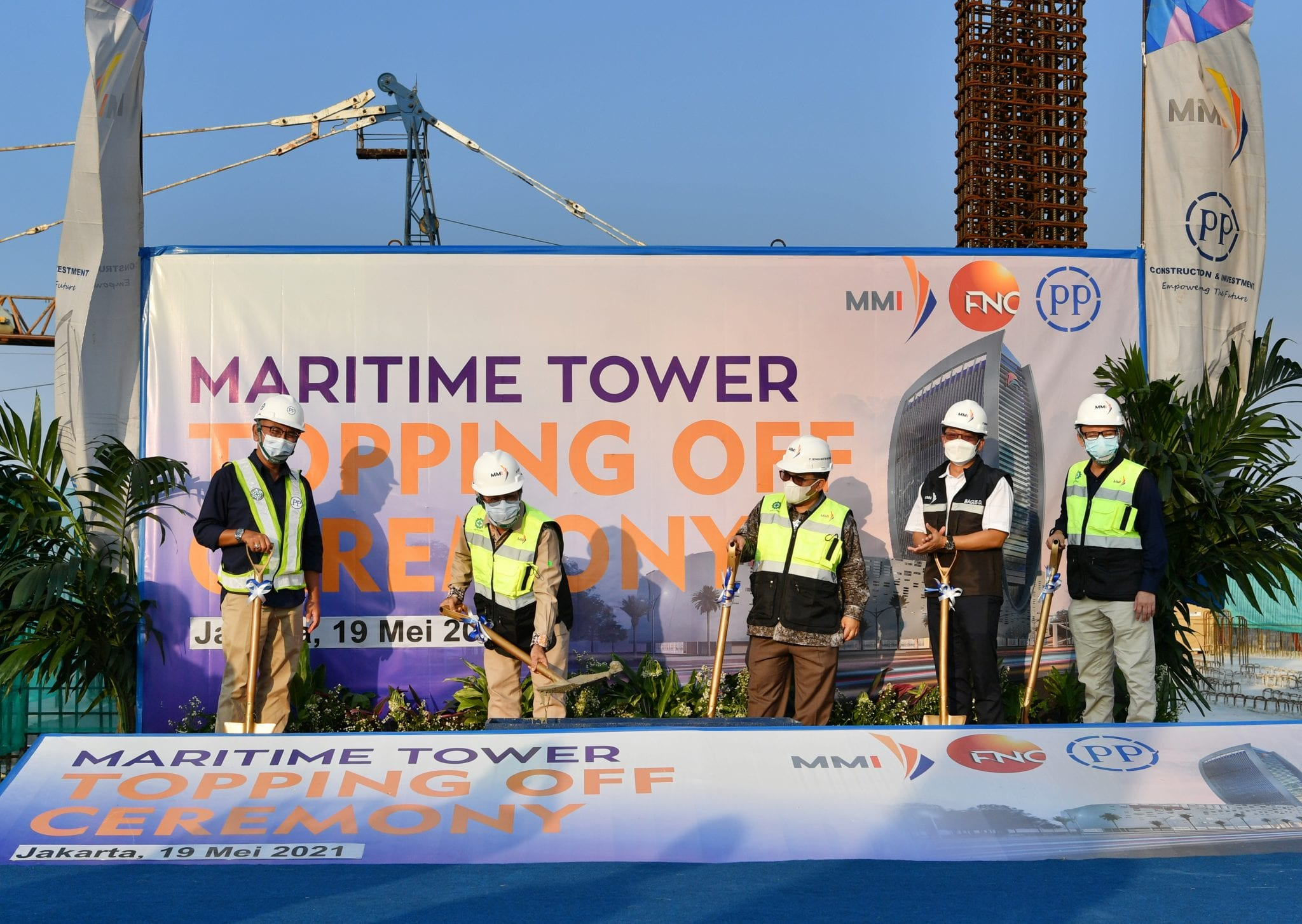 Topping Off Ceremony – Maritime Tower