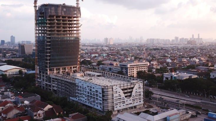 Progress Proyek Maritime Tower – April 2021