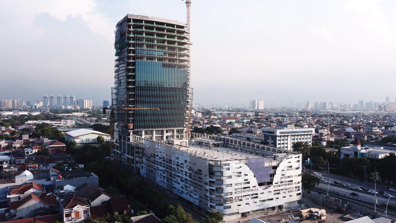 Progress Proyek Maritime Tower – Juni 2021